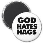 Gott hasst Hexen Magnets