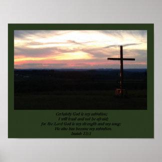 Gott ist meine Rettung Poster