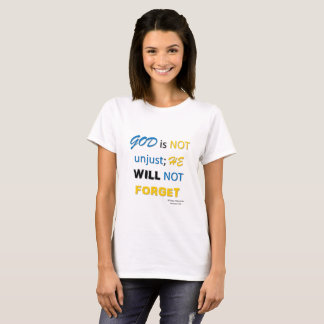 Gott ist nicht ungerecht T-Shirt
