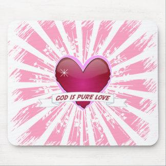 Gott ist reine Liebe Mauspad