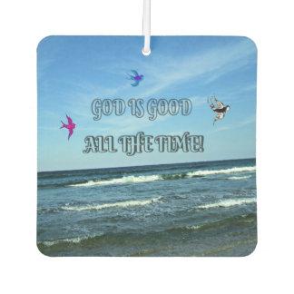 Gott ist ständig gut lufterfrischer