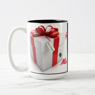 Gott-Jul-Tasse Zweifarbige Tasse