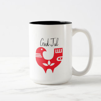 Gott Jul Zweifarbige Tasse