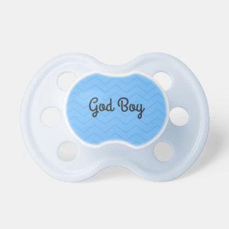 Gott-Jungen-Schnuller Baby Schnuller