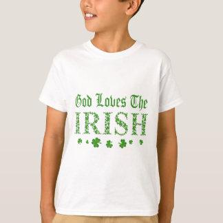 Gott-Lieben die Iren T-Shirt