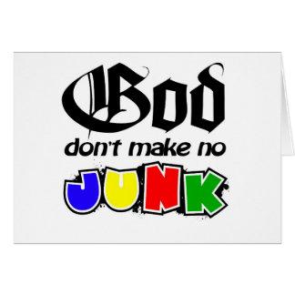 Gott machen nicht keinen Kram Karte