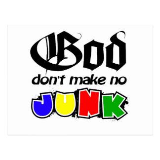 Gott machen nicht keinen Kram Postkarte