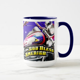Gott segnen Amerika-Tasse Tasse