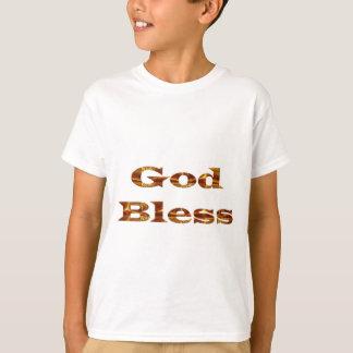 GOTT segnen - goldenes Skript-beste Geschenk-jede T-Shirt