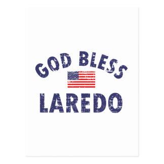 Gott segnen LAREDO Postkarte