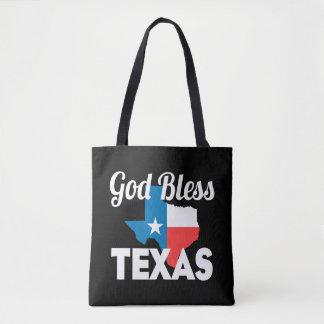 Gott segnen Texas Tasche