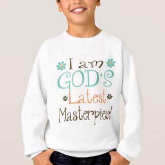 Gott-spätestes Meisterwerk Sweatshirt