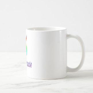 Gott verkörperter Regenbogen Kaffeetasse