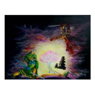 Götter von Chaos Postkarte