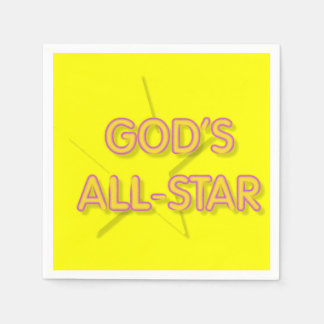 Gottes All-Star- Serviette