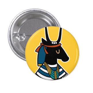 Gottheit:: Hathor Runder Button 2,5 Cm