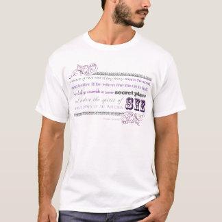 Göttin-Gebühr (purp-graues) .png T-Shirt