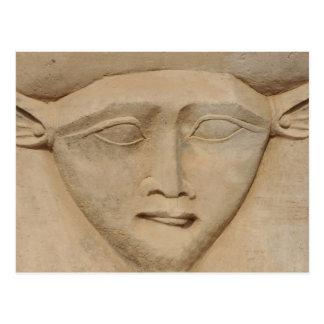 Göttin Hathor Postkarte