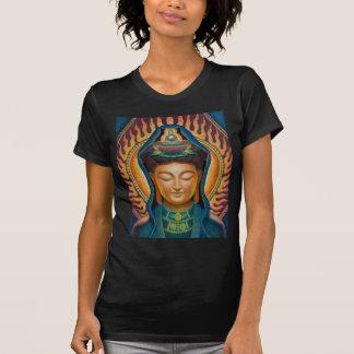 Göttin Kuan Yins Flammen-T - Shirts