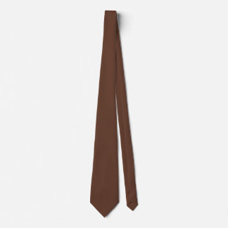 Göttlich Süßigkeiten-Brown-Farbe Bedruckte Krawatten