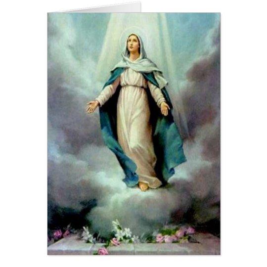 Göttliche Mutter Grußkarte