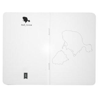 Gotts Insel-Kontur-Notizbuch Taschennotizbuch
