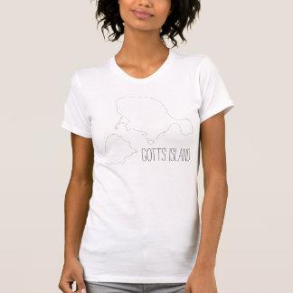 Gotts Insel-Shirt - Kontur Strangelove Text T-Shirt