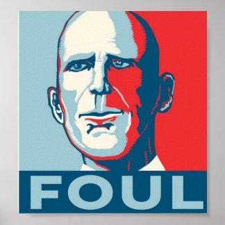 GouverneurRick Scott FOUL Poster