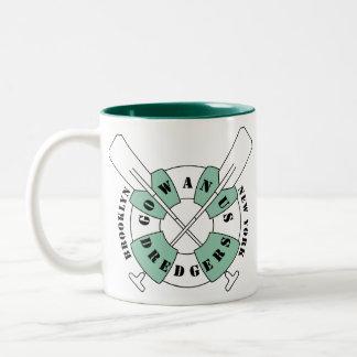 Gowanus Bagger-Kaffee-Tasse Zweifarbige Tasse