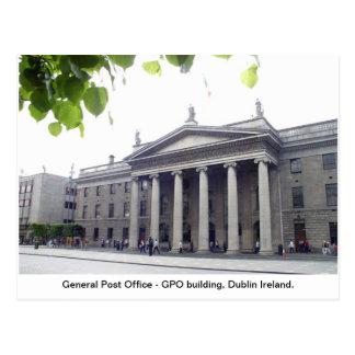 GPO Dublin Stadt Irland Postkarte