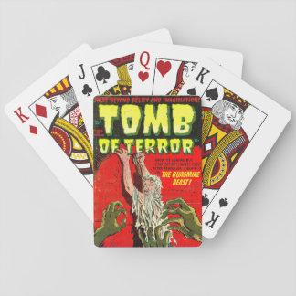 Grab des Terrors das Morast-Tier Spielkarten