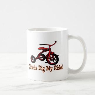 Graben Sie meine Fahrt Kaffeetasse