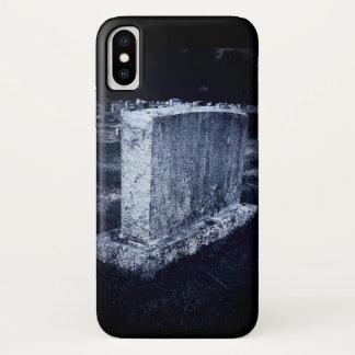 Grabstein-Apple iPhone X, kaum dort Telefon-Kasten iPhone X Hülle