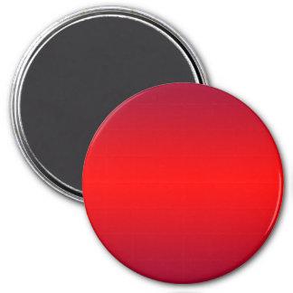Gradient rouge nucléaire - blanc de modèle de roug aimant pour réfrigérateur