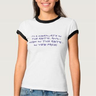 Graduierter Kunst-T - Shirt