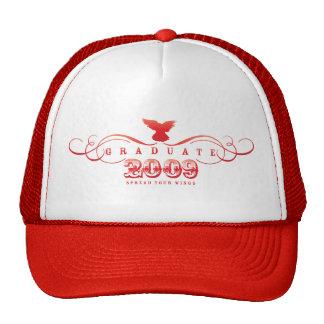 Graduiertes 2009-Spread Ihr Flügel-Hut Kultkappe