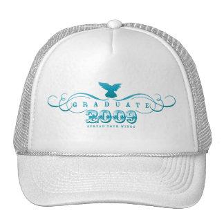 Graduiertes 2009-Spread Ihr Flügel-Hut Caps