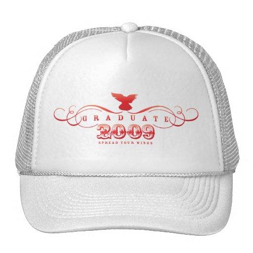 Graduiertes 2009-Spread Ihr Flügel-Hut Baseball Mützen