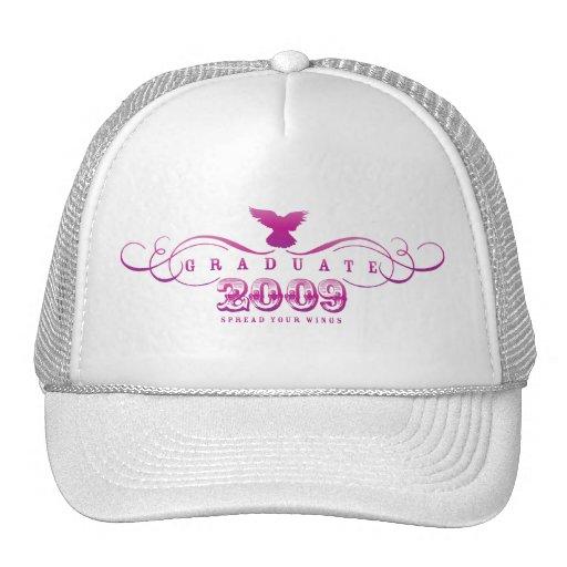 Graduiertes 2009-Spread Ihr Flügel-Hut Netzcap