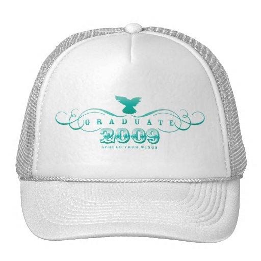 Graduiertes 2009-Spread Ihr Flügel-Hut Trucker Caps