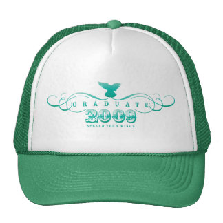 Graduiertes 2009-Spread Ihr Flügel-Hut Kult Mützen