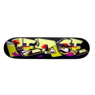 Graffiti-FriedensSkateboardplattform 19,7 Cm Skateboard Deck