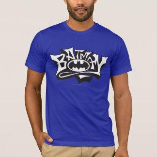 Graffiti-Namen-Logo Batmans | T-Shirt