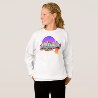 Graffiti scherzen Sweatshirt: Hailey Streetwear Sweatshirt