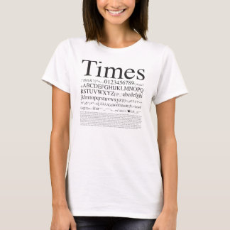 Grafik Design_Times_03 T-Shirt