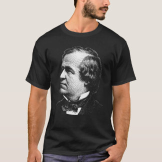 Grafik Präsidenten-Andrew Johnson T-Shirt