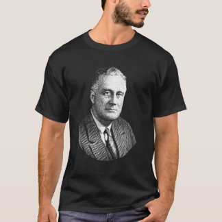 Grafik Präsidenten-Franklin Roosevelt T-Shirt