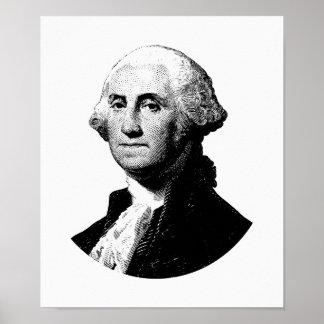 Grafik Präsidenten-George Washington Poster