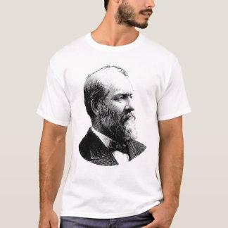 Grafik Präsidenten-James Garfield T-Shirt