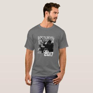 Grafik-T-Shirt des guten Rutsch ins Neue Jahr-2017 T-Shirt